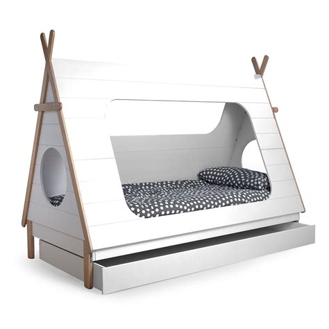 bed and teepee cabin bed trundle drawer beds cuckooland