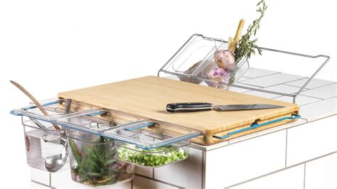 Kitchen Storage Design Ideas cutting board upgraded to kitchen workbench the