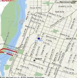 Map Salem Oregon by Downtown Salem Oregon Map
