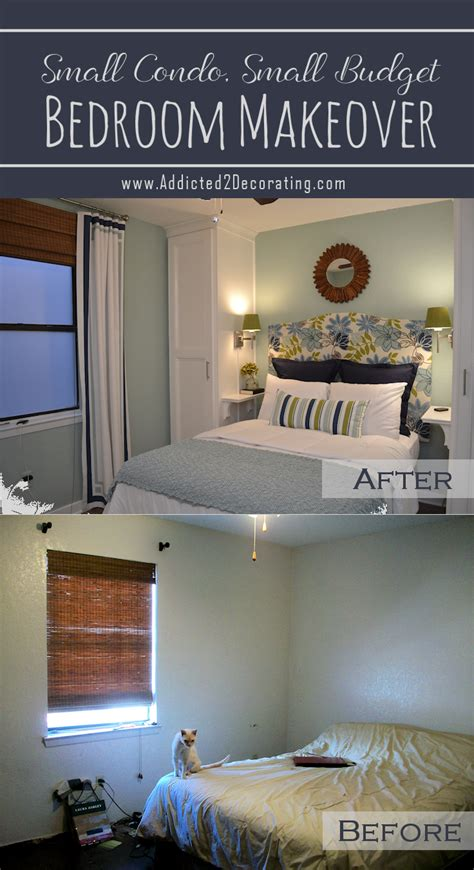 bedroom 2 make over small condo small budget bedroom makeover before after
