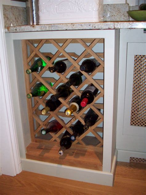 under cabinet wood wine rack under counter wine rack matt and jentry home design