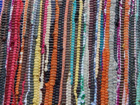 cotton rag rug cotton rag rug runner multi coloured fair trade india shabby chic 3 sizes new