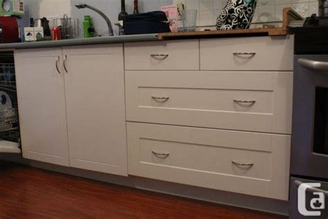 Ikea Akurum Kitchen Cabinets Akurum Ikea Kitchen Cabinet W Adel Fronts Queensborough For Sale In Vancouver
