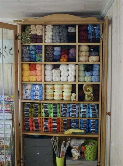 Yarn Storage Cabinets 1000 Images About Yarn Storage Ideas On