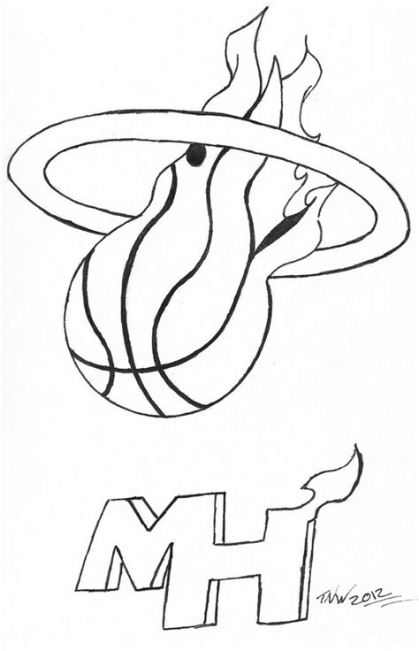 heat basketball coloring pages free coloring pages of lebron james symbol