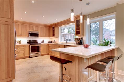birdseye maple kitchen cabinets birdseye maple kitchen transitional kitchen toronto