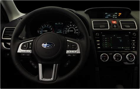 subaru forester interior 2017 2017 subaru forester model information suv research