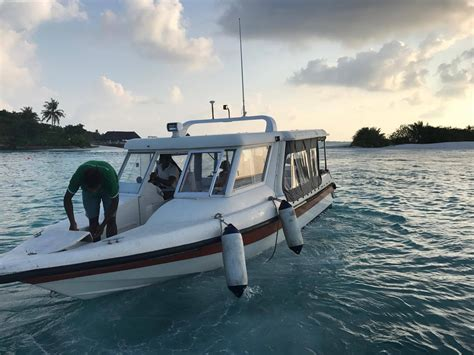 Airport Transfer Service by Speed Boat Airport Transfer Service Heaven Maldives