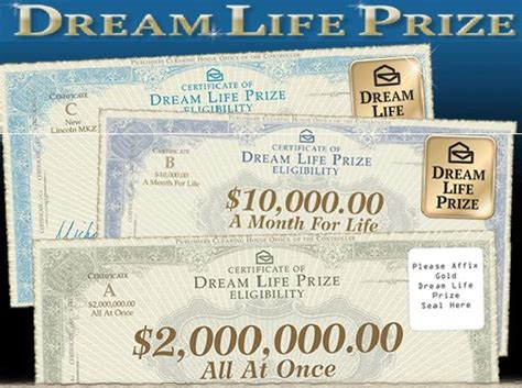 Sweepstakes Clearinghouse Vouchers - i want to win the dream prize 1 pinterest the o jays and dreams