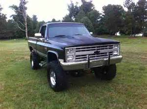 1985 Chevrolet 4x4 For Sale Buy Used 1985 Chevrolet Truck Black 4x4 Antique In