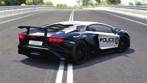 Lamborghini Back Scpd 2016 Lamborghini Aventador Sv Back By