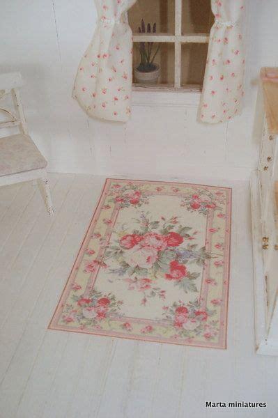 shabby chic carpet carpet shabby chic 1 12 scale dollhouses shabby chic dollhouses and chic