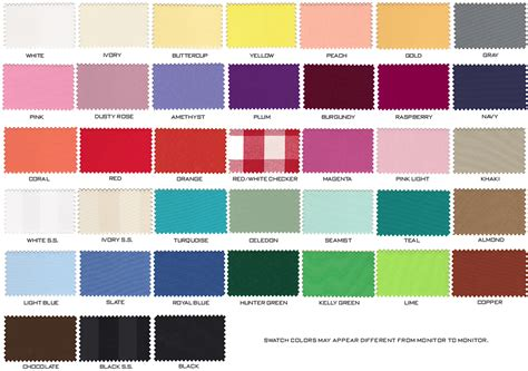 color linen table linen color chart brokeasshome
