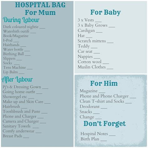 what to put in hospital bag for c section bump baby c me hospital bag so far