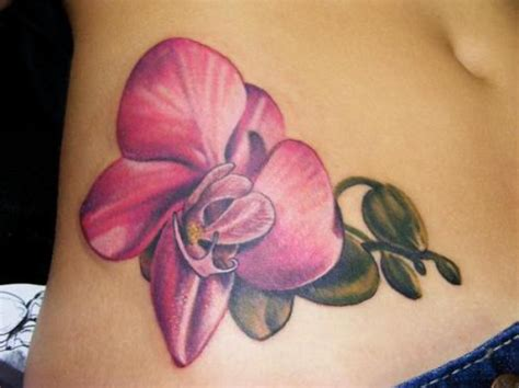 orchid flower tattoo designs orchid tattoos page 3