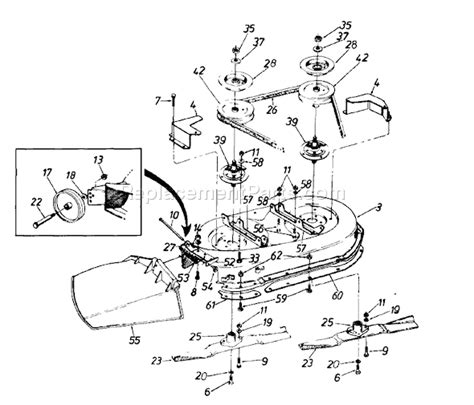 yardman lawn mower belt diagram yardman lawn mower motor parts diagram yardman