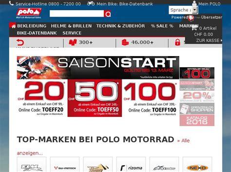 Polo Motorrad Rabatt Code by Tirendo Gutschein