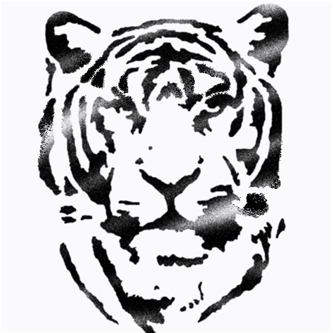 Tiger Stencil Ideal Stencils Stencil Templates For Painting