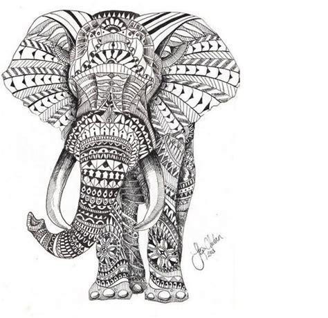 polynesian elephant tattoo polynesian elephant stencil