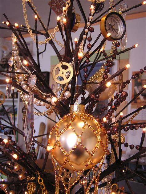 tree with ornaments and lights frenzy universe 187 archive 187 a steunk