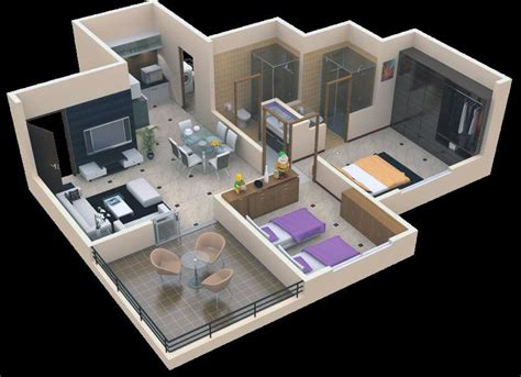 home design 3d 2 bhk buat testing doang 3 bhk interior design projects