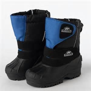 kid snow boots winter snow muck boots childrens fleece lined velcro