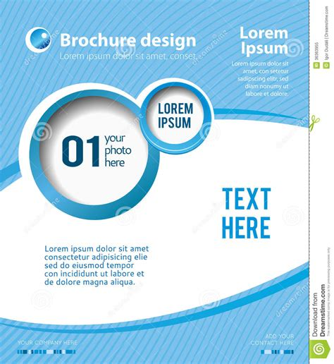 design poster online design layout template stock illustration illustration of