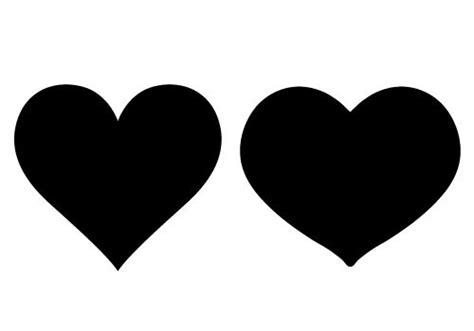 hearts silhouette   toreto co