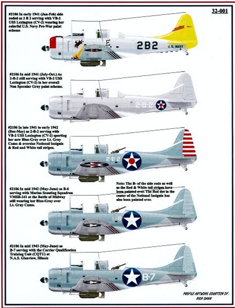 Us Wing Set A B Dan B Early Jets yellow wings decals 32001 1 32 sbd 2 dauntless 2106 decal