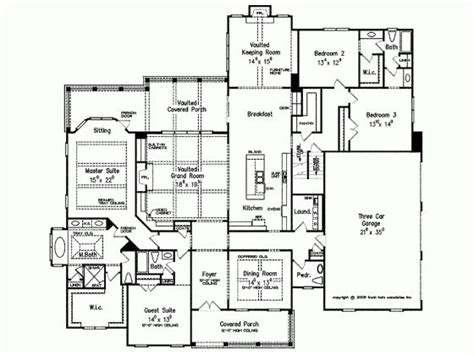 house plans with keeping rooms european house plans the office and keeping room on pinterest