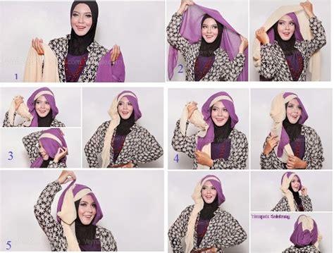 tutorial hijab wisuda didowardah hijab dua warna untuk wisuda metropolis style