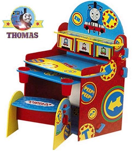 The Tank Engine Desk And Chair - children s furniture table drawing desk