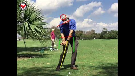 slow motion golf swing analysis setup 4 impact swing analysis face on slow motion