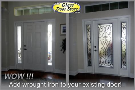 privacy for glass front door does wrought iron front doors speak to you