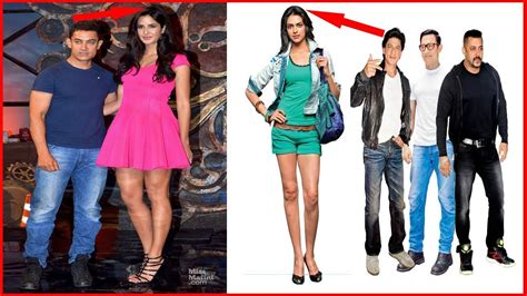 bollywood actress real height list 15 tallest bollywood actress shocking height youtube