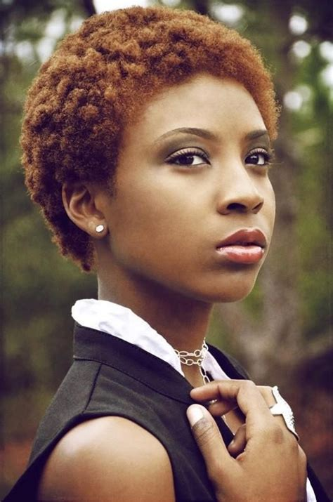 sophisticated natural twa for women auburn twa natural hair pinterest short hair shorts