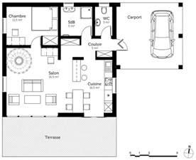 Superb Plan De Maison En U #2: 1-306469-1009