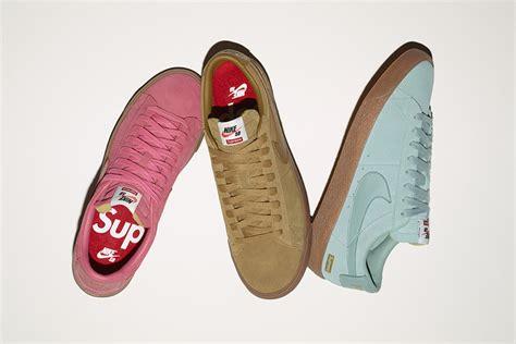 nike x supreme supreme x nike sb blazer low gt le site de la sneaker