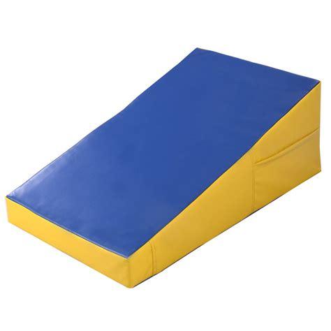 Gymnastic Incline Mat by Goplus Incline Gymnastics Mat Wedge R Sports