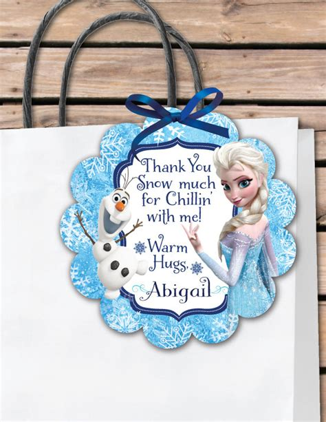 olaf printable gift tags frozen gift tags car interior design