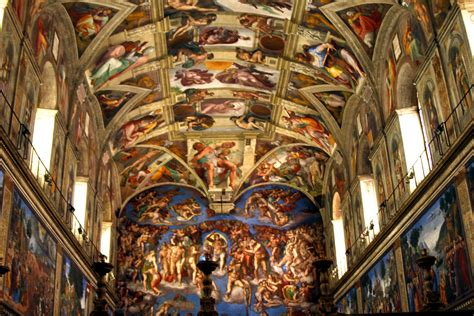 What Is Painted On The Ceiling Of The Sistine Chapel by Biagio Da Cesena More Songs About Buildings And Food