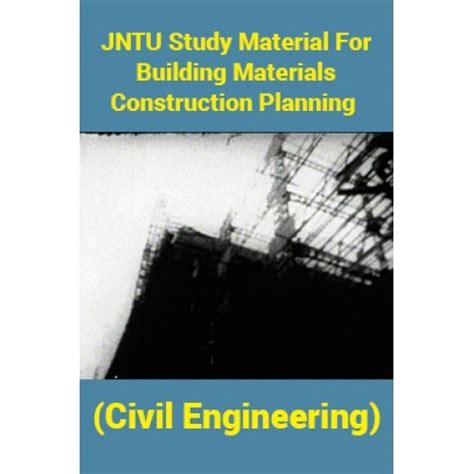 jntu study material  building materials construction planning civil engineering  panel