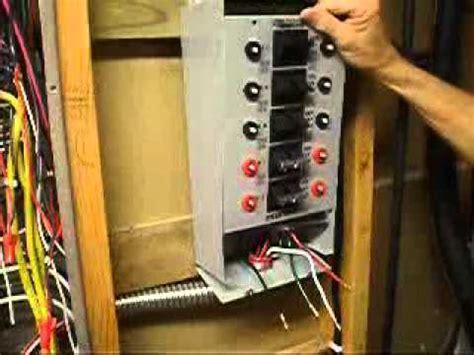 wiring panel generator transfer switch  generator