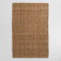 Jute Outdoor Rugs Basket Weave Jute Rug World Market