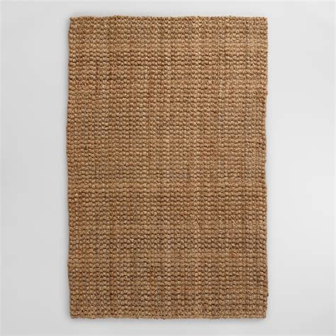 Natural Basket Weave Jute Rug World Market Jute Rug