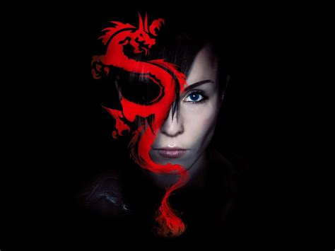 the girl with the dragon tattoo the with the wallpapers pictures images
