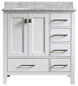 White Vanity Unit Without Sink Gela Single Vanity White Without Mirror Modern