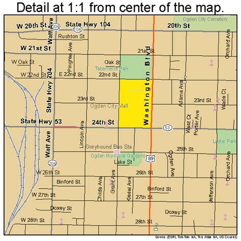 Ogden Utah Map ogden utah street map 4955980