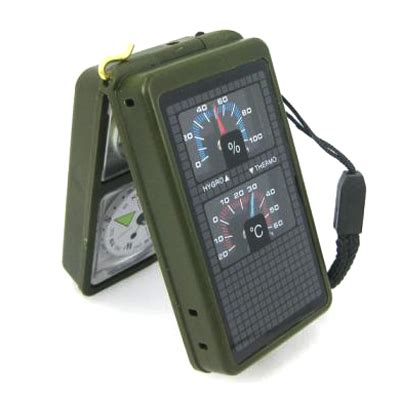 Multifunction 10 In 1 Portable Compass multifunction 10 in 1 portable compass army green jakartanotebook
