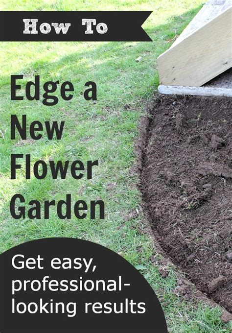 how to edge flower beds how to edge a flower garden the creek line house